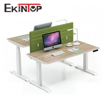 Height-adjustable standing desk focus on office furniture solution