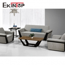 Button-tufted sofa by office furniture manufacturer in Ekintop