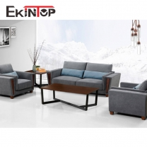 Fabric sofa by office furniture manufacturer in Ekintop