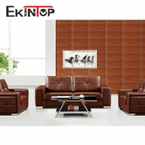 Modern sofa lether by office furniture manufacturer in Ekintop