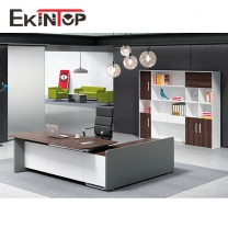 Corner office desks for sale by Ekintop China manufacturer
