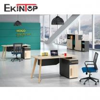 L shaped computer desk by office furniture manufacturer in Ekintop