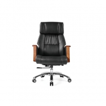 Small black desk chair by China office manufactory