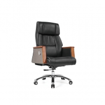 Small black office chair by China office manufactory