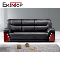 Genuine leather sofa set by office furniture manufacturer in Ekintop