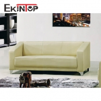 Made in china leather sofa by office furniture manufacturer in Ekintop