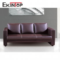 Leather sofa set 3 2 1 seat manufacturers in office furniture from Ekintop