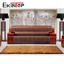 Pu sofa factory by office furniture manufacturer in Ekintop