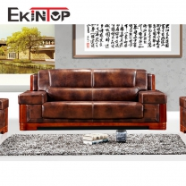 Modern wooden sofa design by office furniture manufacturer in Ekintop