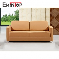 Luxury leather sofa by office furniture manufacturer in Ekintop