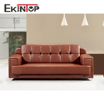 China leather sofa by office furniture manufacturer in Ekintop