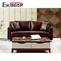 Leather sectional sofa set by office furniture manufacturer in Ekintop