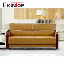Modern Italian leather sofa model manufacturers in office furniture from Ekintop