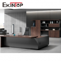 Melamine office board desk by office furniture manufacturer in Ekintop