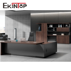 Melamine office furniture board desk manufacturers in Ekintop office furniture
