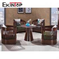 Luxury furniture sofa sets by office furniture manufacturer in Ekintop