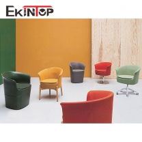 100% top grain leather sofa set by office furniture manufacturer in Ekintop