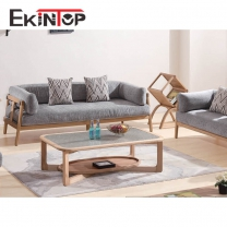 Italian fabric sofa by office furniture manufacturer in Ekintop