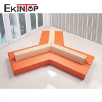 Superb leather sofa by office furniture manufacturer in Ekintop