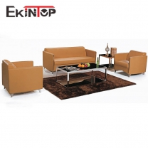 Leather sofa set guangzhou by office furniture manufacturer in Ekintop