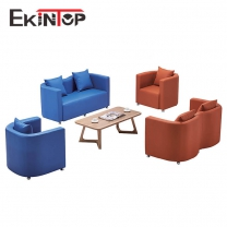 Office reception sofa by office furniture manufacturer in Ekintop
