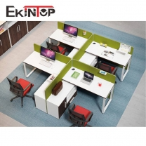 4 seater workstation manufacturers in office furniture from Ekintop