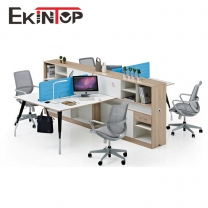 Four person staff desk manufacturers in office furniture from Ekintop