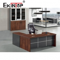 Office desk with filing cabinet manufacturers in office furniture from Ekintop
