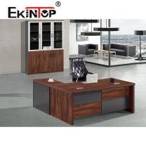 Large wooden office desk manufacturers in office furniture from Ekintop