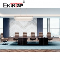 Wood negotiating office desk manufacturers in office furniture from Ekintop