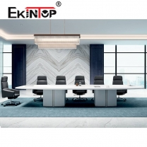 Wood negotiating office table manufacturers in office furniture from Ekintop