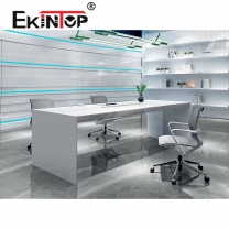 White negotiating office table manufacturers in office furniture from Ekintop