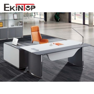 How to identify the large executive desk in office furniture