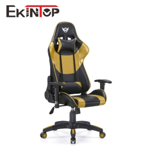 Where are the comforts of gaming chairs displayed?
