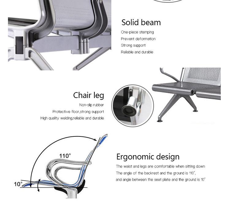 Iron waitting chair manufacturers