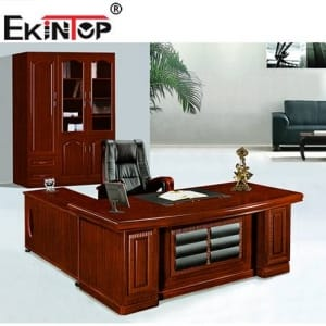 Ekintop high quality professional boss chair meeting table reception desk office furniture