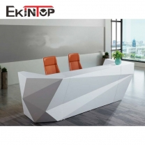 Modern office furniture curved reception desk manufacturers from Ekintop