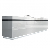Modern reception desk office furniture manufacturers for China