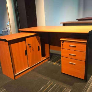 Sharing a simple office desk