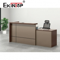 Wooden hotel reception desk manufacturers in office furniture from Ekintop