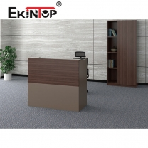 Small salon reception desk manufacturers in office furniture from Ekintop