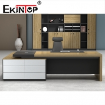 Melamine office desk manufacturer in office furniture from Ekintop
